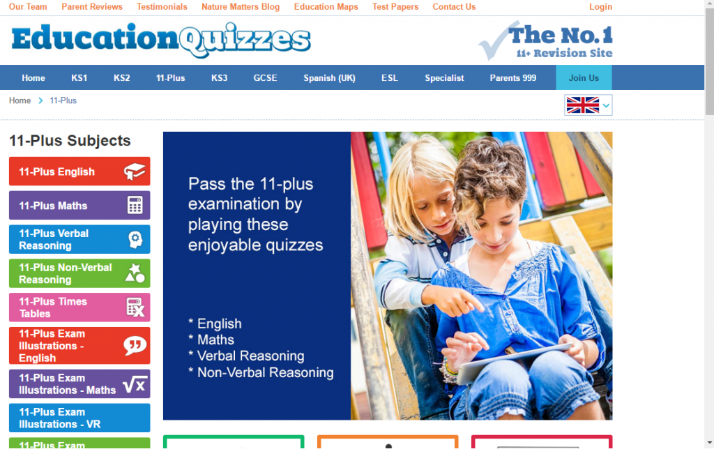 Learning At Home and School With Education Quizzes