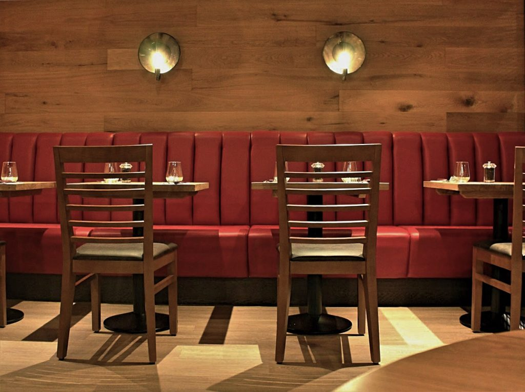 tables and chair steakhouse