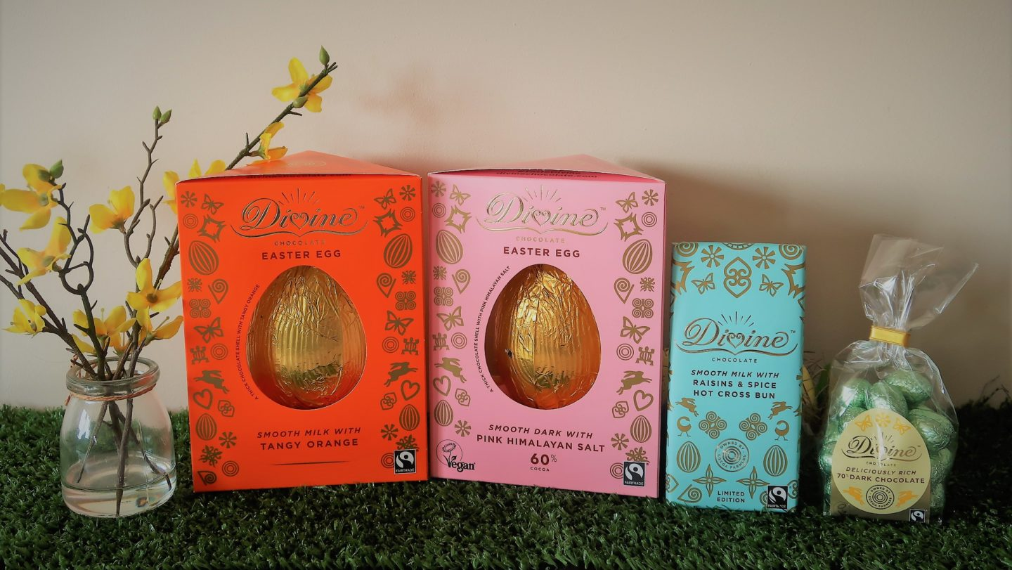 divine fairtrade eggs