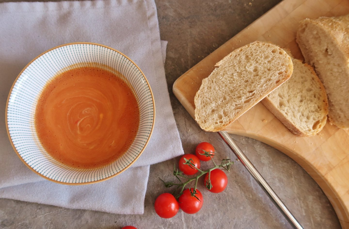 Back To School And Cream of Tomato Soup Recipe With Piccolo Tomatoes | Ad