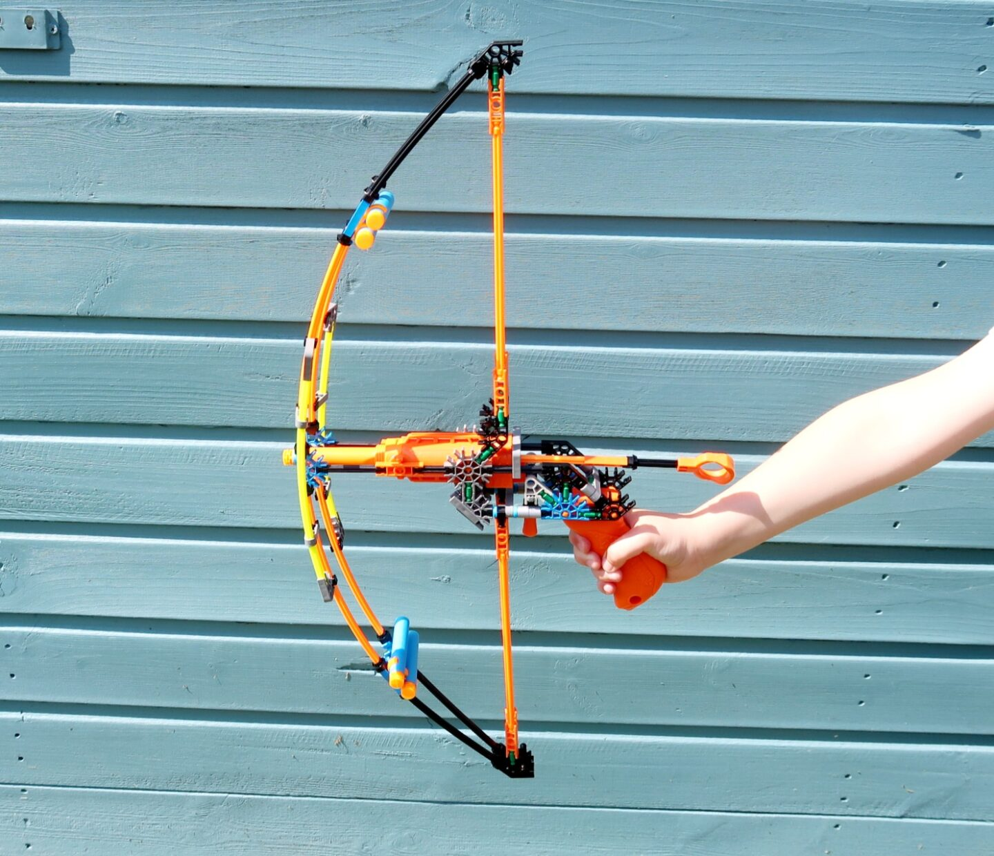 Click and Construct with K'Nex – Rad Rides and Battle Bow Building Set